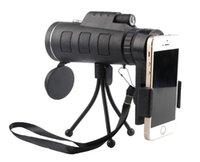 luzes da noite da foto venda por atacado-2018 campo de esportes ao ar livre mini 40X60 telefone móvel foto luz visão noturna único tubo de alta ampliação telescópio de filme verde.