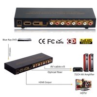 Wholesale hdmi optical audio for sale - HDMI to HDMI Optical Digital to Analog Audio Extractor ch Converter LPCM Audio DAC Channel Converter