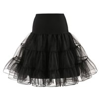 Wholesale Girls Sexy Design Clothes - Women Skirts Tulle Solid Skirt Mini Sexy Pleated Skirt Girls A-line Tutu Dancing Clothes Fashion Design Black Red 18Mar23