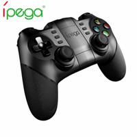 tableta de juegos ipega al por mayor-IPEGA PG-9077 Para mando inalámbrico de PS3 del juego de Bluetooth 2.4G Gamepad Joystick Gamecube Smart Phone / Tablet / PC / TV Box Game Pad