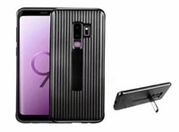 Wholesale ultimate protection - Official Ultimate Protection Phone Case For Samsung Galaxy S9 S9 Plus Back Cover Full Protective Device Standing With Clip Case For Samsung