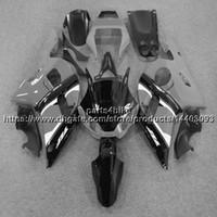 yamaha r6 gri toptan satış-23 renkler + 5 Çiftler ABS gri siyah Yamaha YZF-R6 1998-2002 YZF R6 için Kaporta 98 99 00 01 02 YZFR6 motosiklet Plastik Kaporta