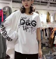 survêtement en coton noir achat en gros de-Hommes Femmes Sportwear T-shirts Jogger Survêtement Pull en coton Crewneck Noir Hip Hop Shark signature T-shirts patchw