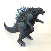 Wholesale movie kits - Godzilla Dinosaur Monster Model Toy Movie Attack Version Action Figure Ornament Lifelike Garage Kit Collectors Hot Sale 20zl WW