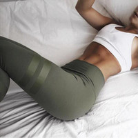 Wholesale leggins colors pants - 3 Colors Army Green Sporting Leggings Clothing For Women 'S Fitness Quick Dry Pants High Waist Leggins Fitness Workout Leggings