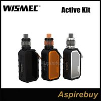 Wholesale mods vaping for sale - Group buy Wismec Active Kit W Waterproof Shockproof Active Box Mod with ML Amor NS Plus Tank with Bluetooth Music Vaping at Ease Authentic