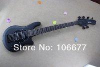 cuerda hombre negro al por mayor-Envío Gratis Venta Caliente Top Qulity Music Man Bongo Metal Azul 6 Cuerdas Pickups ActivoMatte Negro Bass Guitarra Eléctrica