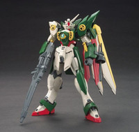 Wholesale Anime Gundam - New Anime Figure HG 1:144 am Wing am Assembled Toy PVC Action Figures Toy Model Collectibles Robot