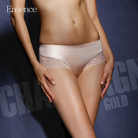 Wholesale Lace Cheeky Underwear - Ensence Sexy Lingerie Underwear No trace Lace Cheeky Hipster Cotton Crotch Briefs Panties for Women