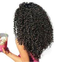 insan saçı renk uzantıları toptan satış-3B 3C Kinky Kıvırcık İnsan Saç Uzantıları Klip Perulu Klip-Ins Tam Başkanı 7 Adet / takım 120G Remy Saç Dolago Nautral Renk
