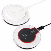 Wholesale Receiver Dhl Free - Free DHL K9 Qi Wireless Charger Charging Fantasy pads For iPhone X 8 6 6s 7 plus Samsung S6 Edge s7 NOTE8 receiver crystal