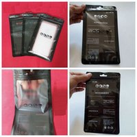 comprar celulares venda por atacado-Zip bloqueio celular acessórios caso fone de ouvido saco de embalagem de compras OPP PP PVC poli saco de empacotamento plástico fosco para iphone 6 7 8x nota 8