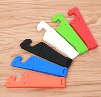 Wholesale electronic shops for sale - Group buy 2018 Mobile Phone Stand Foldable Holder Small Support for universal phone Electronic Commerce Gift free shopping