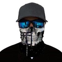 шейный платок bandana оптовых-Велоспорт маски череп звезды печатных езда магия оголовье на открытом воздухе спорт головные уборы трубки шеи теплее головные платки бандана