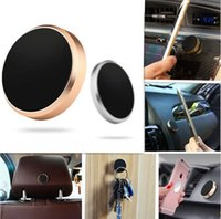 Wholesale mini holder magnetic car online - Stick Magnetic Car Phone Holder Universal Mini Cell Phone Car Mounts With Retail Package For iPhone Plus Smartphones