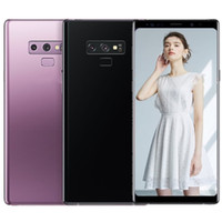cep telefonu android notları toptan satış-ERQIYU Goophone notu akıllı telefonlar 6.4 inç Android 9.0 çift sim gösterilen 128G ROM 4G LTE cep telefonları 9 renkler