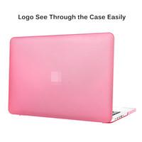 étuis rigides macbook 13 pouces achat en gros de-Coque de protection rigide en plastique dur de première qualité pour le Macbook 11/12/13/15 inch
