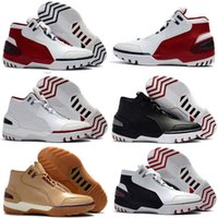 Wholesale Sport Rubber Ball - 2017 Limited Retro Zoom Generation First Game Basketball Shoes for James 1 Fashion Sports Basket Ball Sneakers shoes Size 7-12