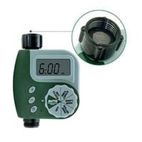 Wholesale hose valves - Garden Digital Water Timer Single Valve Hose Irrigation Watering Timer Single Outlet Faucet Hose Bib Timer CCA8446 10pcs