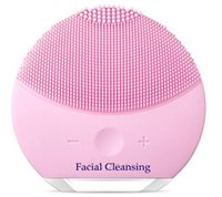 Wholesale Sonic Face Cleaning Brush - Facial Cleansing Brush Sonic Cleansing for Face Skin Cleaning Medical Level Silicone & Waterproof LUNA