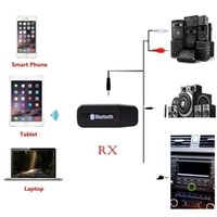 usb dongle android оптовых-3.5 мм Разъем Aux Стерео Аудио Музыка Динамик Приемник Адаптер Dongle USB Беспроводной Bluetooth Адаптер Dongle для IOS / Android Автомобильный ПК