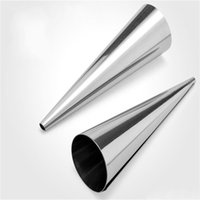 Wholesale cake decorating tubes for sale - Group buy Baking Cones Mould Cake Decorating Tools Spiral Baked Croissants Horn Roll Tubes Small Cake Mold Easy Carry mr cc