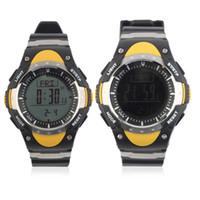 силиконовые электронные спортивные наручные часы оптовых-Electronic Sport Watch Outdoor Climbing Digital Wrist watches Reloj hombre Silicone Band LCD Display FR828A/FR828B