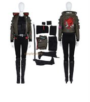 Wholesale female cosplay characters for sale - New Arrival Cyberpunk Cosplay Costume Women Halloween Game Character Cosplay Costume For Adult Game Suit Custom Made