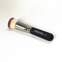 parlatıcı krem toptan satış-Cennet Luxe Düz Üst Parlatıcı Vakfı Fırça # 6 - Kalite Kontur BB Sıvı / Krem Güzellik Makyaj Fırçaları Blender Araçları