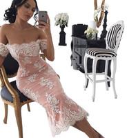 абити да сыра красный ковер оптовых-2018 sexy дешевые плюс размер арабский короткие русалка пром вечерние платья платья белые кружева вечерние платья