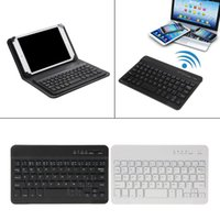 android mini computer оптовых-Mini Keyboard Ultra Slim 59-Key Wireless Bluetooth Keyboard For IOS Android Windows PC Computer