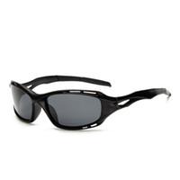 gafas de sol amarillas uv al por mayor-Moda Nueva conducción Gafas de sol Negro Amarillo Hombres Seguridad de múltiples funciones HD Gafas de visión nocturna Gafas de protección UV Mujeres Gafas