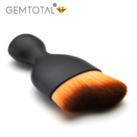 gesicht skulptur make-up großhandel-Make-up-Pinsel, Kabuki Professional Flat Brush Gesicht-Sculpting-Make-up-Pinsel, grausamkeitfreie Puderpinsel, Foundation und Puder-Make-up-Pinsel