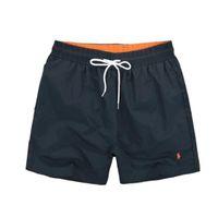 Wholesale boxer pants - 114 Wholesale-Summer Men Short Pants Brand Clothing Swimwear Nylon Men Brand Beach Shorts Small horse Swim Wear Board Shorts 2018