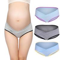 c4a3a63056d24 Cotton Maternity Underwear U-Shaped Low Waist Pregnancy Briefs For Pregnant  Women Plus Size Panties Clothes. 25% Off
