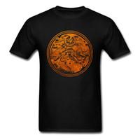 camisa preta do desenhista dos homens venda por atacado-2018 Watchman Preto T-shirt Do Vintage Assista Engrenagens Imprimir Na Camisa dos homens T Novelty Designer Adulto Plus Size Roupas de Algodão
