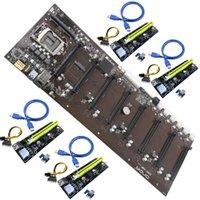 x1 destek toptan satış-ONDA B250 BTC D8P D3 Madencilik Kurulu DDR3 LGA 1151 dahil 4 Adaptör Plakaları Destek 12 Grafik Kartları