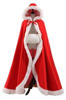 capa de invierno de piel sintética al por mayor-2019 nupcial de invierno capa de piel sintética chaquetas de la capa de la Navidad para la boda nupcial Wraps para vestidos de novia barrer tren chaquetas de novia CPA1617