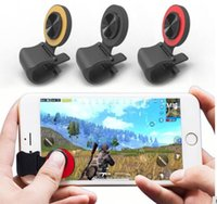 Wholesale joystick for mobile phones online - Mini Ultra thin Touch Screen Mobile Phone Joystick for Phone Arcade Games Controller Touch Joystick for Iphone Android Phones