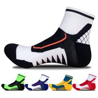 Wholesale Socks For Hiking - 2018 New Hot Men Athletic Socks Sport Basketball Cotton Socks For Men Male Spring Summer Running Free Shipping G515S