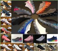 chaussures rose fuchsia achat en gros de-New 2.0 Flagship Shoes hommes femmes blanc noir rose formateurs de tricot chaussures de sport