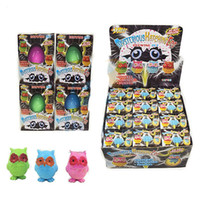 Wholesale eggs for hatching - Children Intelligence Inflated Toy New Pattern Magical Easter Magic Egg Owl Koala Hatch Eggs Puzzle Gift For Kid 2xk W
