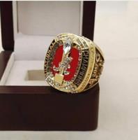 Wholesale Hot Hangers - 2017 Hot Crazy NCAA 2017 Alabama Crimson Tide Football National Championship Ring Replica SABAN Drop Shipping