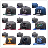 Wholesale usa d - 2018 new style fashion NCAA Duke Blue Devils snapbacks mens Alabama hats Reflective Design caps USA College Letter A D Logo Adjustable Caps