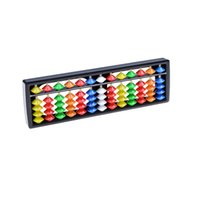 Wholesale Math Tool - 1PCS Portable 13 Column Arithmetic Colorful Beads Mathematics Calculate Tool Abacus Math Toys Kids Funny Toys