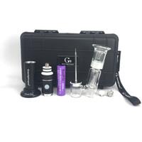 виниловые вложения оптовых-инновационная новая версия воск Vape ручка с 2500mah батареи керамические ногтей стекло бонг приложение для воска G9 henail plus e cig starter kit