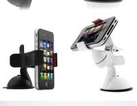 всасывание сотового телефона оптовых-360 градусов вращение с присоской мобильный телефон автомобильный держатель лобовое стекло настольного кронштейна держатели для мобильного телефона смартфон Samsung iPhone