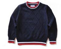 ingrosso cotone coreano per i bambini-Maglione per bambini di lusso AM-301 Maglione per bambini caldo in cotone nuovo classico caldo versione coreana ragazzi ragazze Maglioni Maglione per bambini