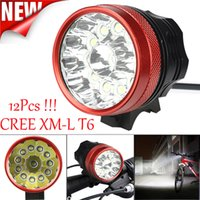 Wholesale x cree led bike lights for sale - Group buy Bicycle Light Lumens Flashlight x CREE Chip XML T6 LED Cycling Front Light Zoom Waterproof Bike lights E0 Y1892809