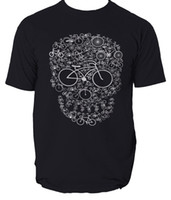 Wholesale bicycle tee for sale - Group buy Bike T SHIRT Tee Cycling Bicycle Riding birthday fashion gift bicycle skull Funny Unisex Casual gift